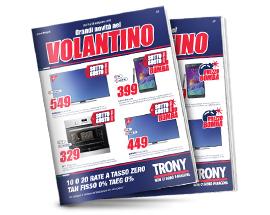 Trony milazzo messina punto vendita trony for Volantino acqua e sapone milazzo